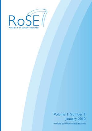 Rose - Research on Steiner Education - Vol1 - Issue1